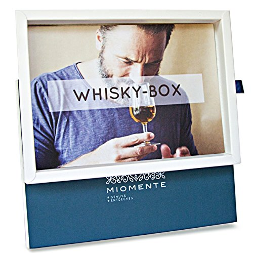 Miomente WHISKY-Box: Whisky-Tasting-Gutschein - Geschenk-Idee Erlebnisgutschein