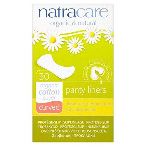 natracare Natural compresas Curved 30por paquete