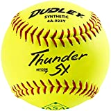Dudley Thunder Usasb Synthetic Slow Pitch 11 Inch Softball 12 Ball...