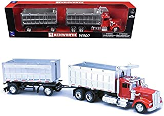 New Ray 1/43 D/C Kenworth W900 Double Dump Truck