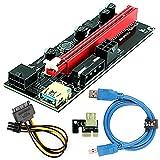 Ubit PCI-E Riser Express Cable 16X to 1X...
