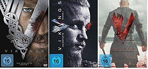 Vikings - Season/Staffel 1+2+3 (1-3) * DVD Set