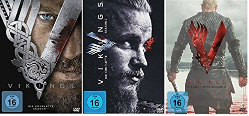 Vikings - Season/Staffel 1+2+3 (1-3) * DVD Set