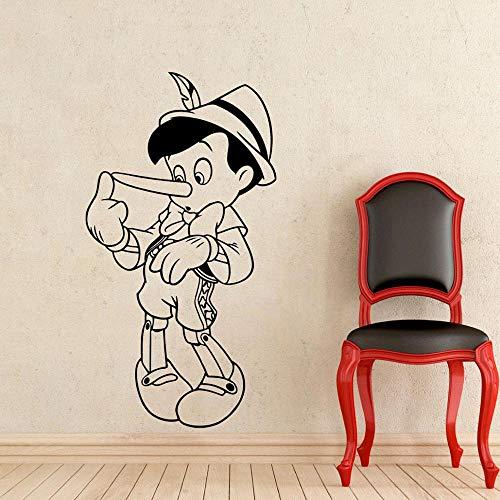 wZUN Calcomanía de Pared extraíble Vinilo Pegatina habitación Personaje de Dibujos Animados hogar niños habitación decoración 50x27 cm