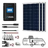 ACOPOWER 300 Watts 12/24 Volts Polycrystalline Panel Solar...