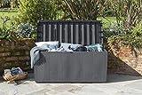 Keter Auflagen- und Universal Rattan Style Box Capri, 305 L, grau - 9
