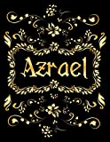 AZRAEL GIFT: Novelty Azrael Journal, Present for Azrael Personalized Name, Azrael Birthday Present, Azrael Appreciation, Azrael Valentine - Blank Lined Azrael Notebook