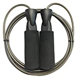 TIT COOPOPE Aerobic Exercise Boxing Skipping Jump Rope Adjustable...