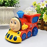 CLASSIC INDIAN New Bump and Go Musical Engine Toy Train with 4D Light