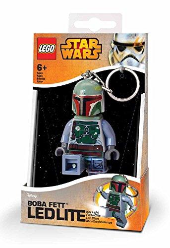 Lego - Star Wars Taschenlampe Boba Fett mini linterna, 7,6 cm (29012-15)