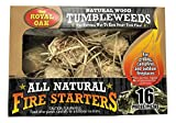 Royal Oak All Natural Fire Starters Natural Wood Tumbleweeds - 16 Pieces