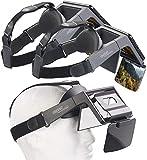 auvisio AR Brille: 2er-Set Augmented-Reality- & Video-Brillen für Smartphones, 69° (Virtual Reality Brille)