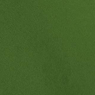 Grassy Meadows Green Wool Felt Fabric - by the Yard