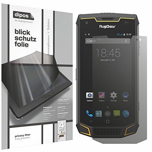 dipos I Blickschutzfolie matt kompatibel mit Ruggear RG740 Sichtschutz-Folie Bildschirm-Schutzfolie Privacy-Filter