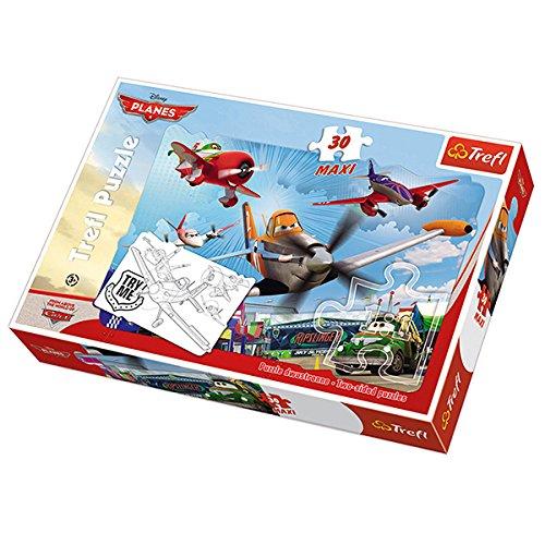 Legler - 2019303 - Puzzle Classique - Planes Maxi 30