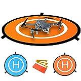 Tapis d'atterrissage Helipad 30' pour Drone - Bonne Protection pour hélicoptères et...
