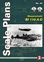 Messerschmitt Bf 110 A-D (Scale Plans)