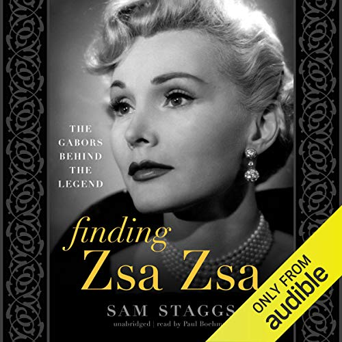 Finding Zsa Zsa audiobook cover art