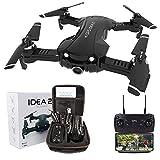 le-idea Drone GPS con Telecamera 4k, Pieghevole Mini Quadcopter 5GHz WiFi FPV...