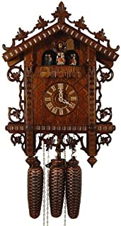 Authentic German Black Forest Cuckoo Clock 1855 Replication