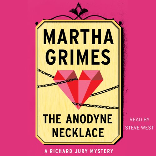 The Anodyne Necklace audiobook cover art