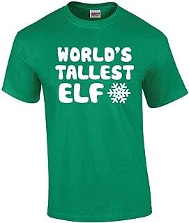 World's Tallest Elf - Funny Elf Christmas Tee Elves Premium Men's T-Shirt