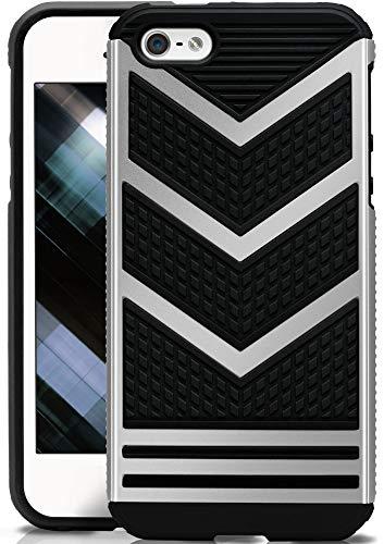 OneFlow® Funda Protectora de Doble Capa Compatible con iPhone 5S / 5...