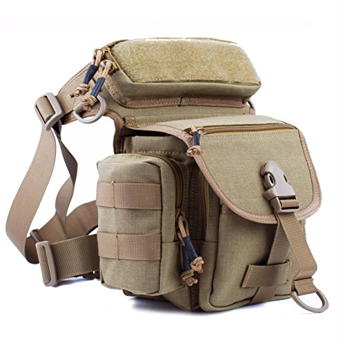 Ovinm Reebow Gear Military Tactical Drop Leg Bag Thigh Pack Pouch Motorcycle Thermite Versipack Sand Color