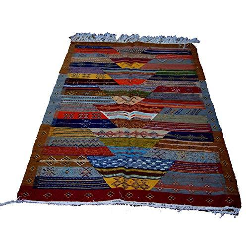 Etnico Arredo Alfombra Kilim Berbero Marruecos Tapiz Oriental África 2207190905