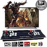 ZQYR# 4000 Giochi Classici 3D Arcade Game Console, Pandora's Box Joystick 2 Giocatori Video Games Plug & Play, 1280x720 Full HD, Alimentazione HDMI e VGA e Uscita USB,ZQ-4171525