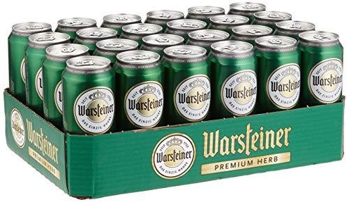 Warsteiner Herb Pils Dosenbier (24 x 0,5L)