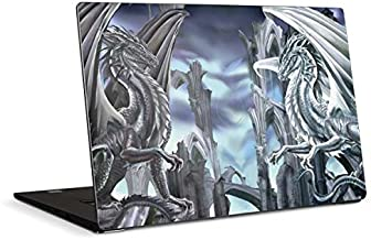 Skinit Decal Laptop Skin Compatible with Dell XPS 15in (2017) - Originally Designed Ruth Thompson Checkmate Dragons Design