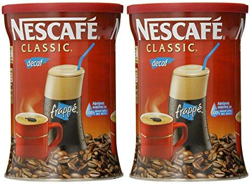 Nescafe Caffè classico istantaneo decaffeinato, lattine da 7 once (confezione da 2)