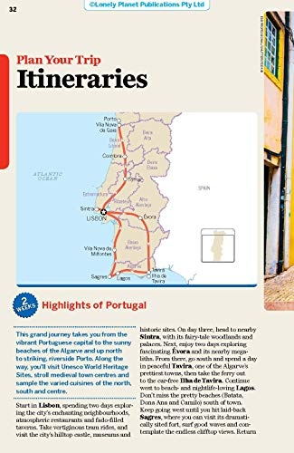 Lonely Planet Portugal (Nation Guide) - 51rSZTu1PEL