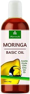 MoriVeda® -Aceite de Moringa Basic 300ml prensado de Oleifera Seeds and Pods adecuado para el cuidado de la piel cuida...