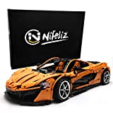 Nifeliz Sports Car P1 MOC Building Blocks and Engineering Toy, Adult Collectible Model Cars Kits to Build, 1:8 Scale Race Car Model (3307 Pieces)