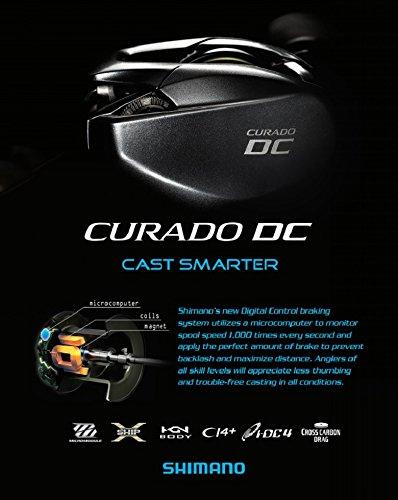 SHIMANO - Moulinet Curado DC 151 - Cudc151 - Sh46A18050: Amazon.es ...
