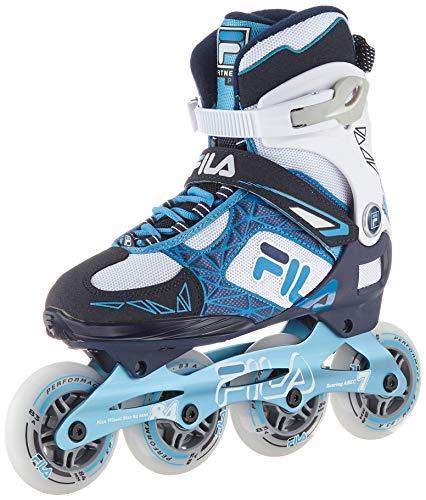 Fila Damen Legacy Pro 84 Lady Inline Skate, blau/weiß/hellblau, 6.5