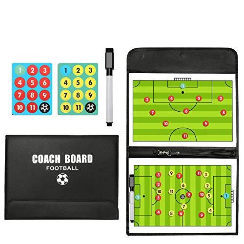 LaceDaisy Professional Football/Entraîneur de Football Tableau magnétique Stratégie gagnante...