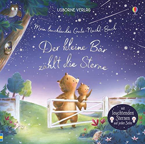 Mein leuchtendes Gute-Nacht-Buch: Der kleine Bär zählt die Sterne: ab 6 Monaten