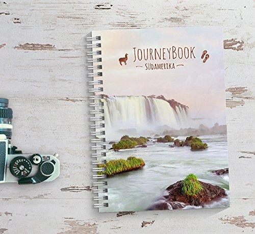 Reisetagebuch Südamerika zum selberschreiben/als Abschiedsgeschenk