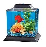 Koller Products AquaScene 1.5-Gallon Fish Tank with LED Lighting