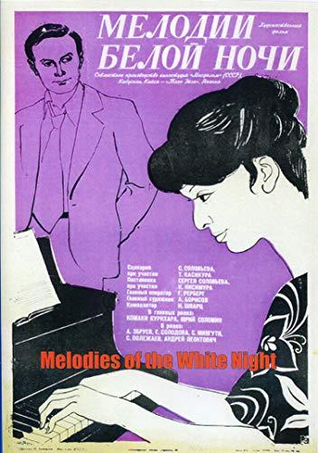 Melodies of the White Night / Melodii beloy nochi / Мелодии белой ночи Russian Drama Movie [Language: Russian; Subtitles: English] DVD NTSC ALL REGIONS