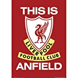 Fußball - Poster Liverpool This Is Anfield