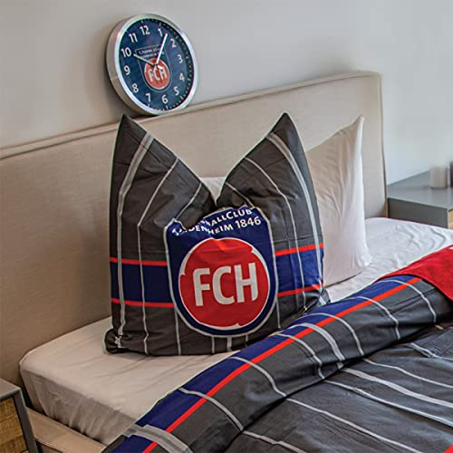 1. FC Heidenheim 1846 Wanduhr   FH540