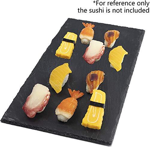 Juego de 4 platos de sushi