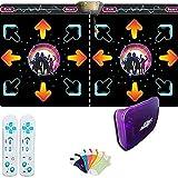 KaiKai Alfombra de Baile Game Pad Wireless 3D Suave somatosensoriales Bailar máquina Que se Utiliza for el Yoga/Regalo de los Juegos/niños