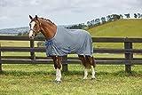 Weatherbeeta Ezi-Dri Standard Neck Blue Grey - Lightweight - The fabric is designed to wick away moisture exceptionally well