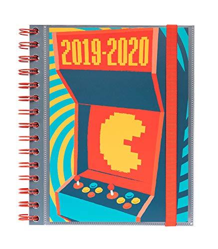 Agenda escolar 2019/2020 semana vista Gamer