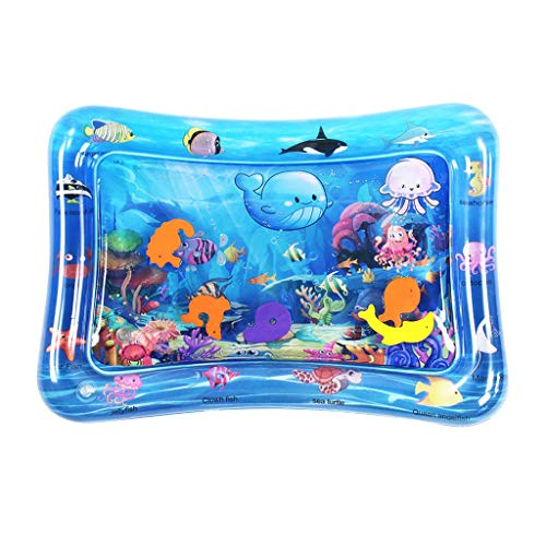 Best Prices! Haayward Baby Water Mat Inflatable Tummy Time Infant Toy Play Mat for Toddlers Perfect ...